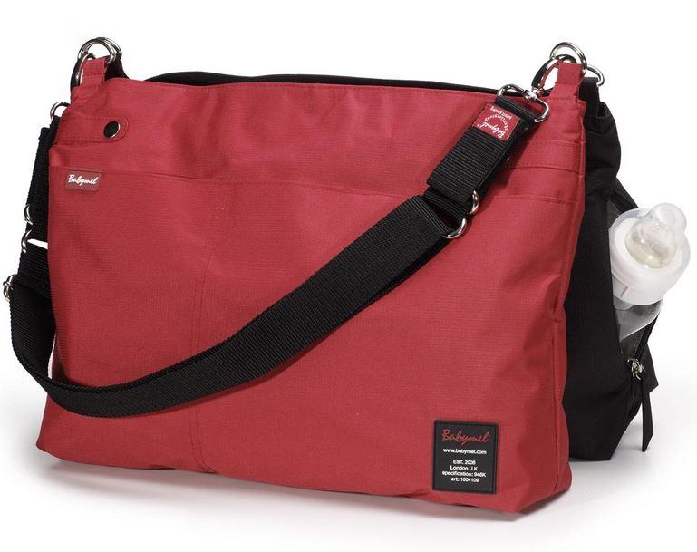 Grey Babymel Soho Messenger Bag Diaper Bag