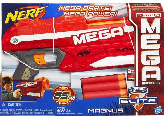 NERF MAGNUS GUN